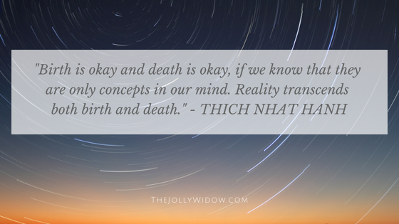 Spiritual Teacher Grief Quotes 10- The Jolly Widow