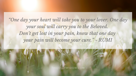 Spiritual Teacher Grief Quotes 13- The Jolly Widow